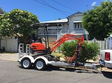 Mini 1.7t Kubota Excavator Wet Hire Coorparoo Brisbane South East Preview