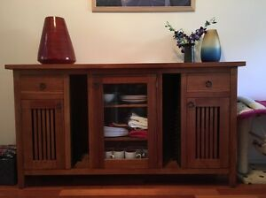 Console TV entertainment unit Blackburn Whitehorse Area Preview