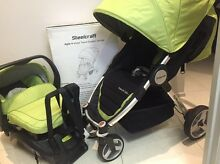 AGILE TRAVEL SYSTEM STROLLER & CAPSULE BY Steelcraft Broadbeach Waters Gold Coast City Preview