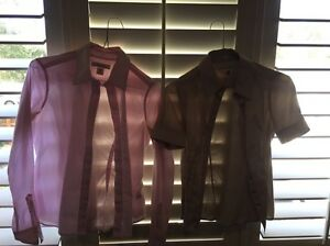 2 Banana Republic blouses - size XS Cammeray North Sydney Area Preview