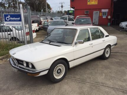 1980 Bmw E12 528i, Only 150kms, Very Clean, $19999