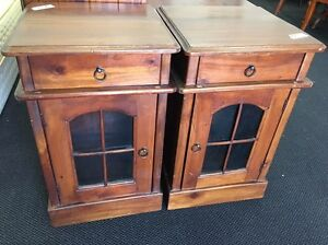 Retro style solid wood bedside table now available Joondalup Joondalup Area Preview