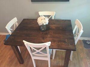 Rustic Kitchen Table Kitchener / Waterloo Kitchener Area image 1