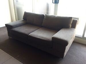 Large 2 seater sofa South Yarra Stonnington Area Preview