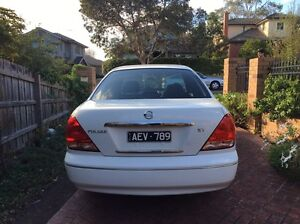 Nissian pulsar 2005 with 10 months rego+RWC Box Hill South Whitehorse Area Preview