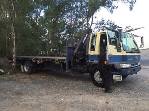 Crane truck with driver for hire.. Windsor Brisbane North East Preview