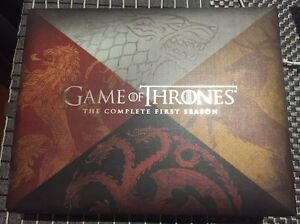Game of Thrones Season 1 Collectors Edition (Blu Ray) Newport Hobsons Bay Area Preview