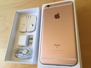 Rose gold iPhone 6s Plus 64gb unlocked Eight Mile Plains Brisbane South West Preview