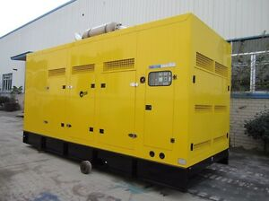 DIESEL GENERATOR 37.5kva SILENT CIVIL FARMING TRACTOR LOADER GEN SET Campbellfield Hume Area Preview
