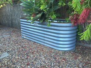 Raised garden beds, planter boxes, corregated Greenwith Tea Tree Gully Area Preview