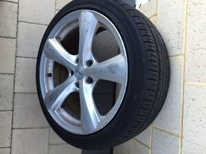 Wheels rims 18x8.5 with Tyres Landsdale Wanneroo Area Preview