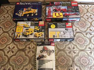 Vintage Lego Technics lot. Melrose Park Mitcham Area Preview