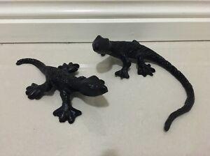 Cast Iron Geckos (pair) Campbelltown Campbelltown Area Preview