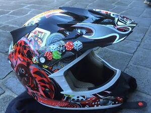 Helmet motorbike/dirtbike Woonona Wollongong Area Preview
