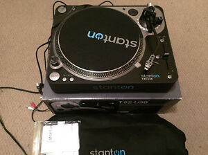 Stanton T92 USB Turntable Cottesloe Cottesloe Area Preview