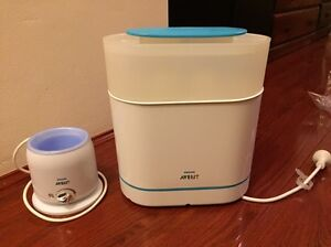 Phillips Avent Electric Steam Sterelizer and Bottle warmer Westmead Parramatta Area Preview