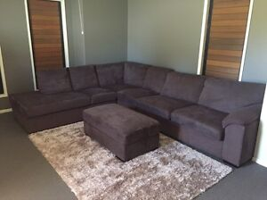 Modular lounge with flip out bed Brookwater Ipswich City Preview