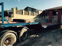 Drop deck low loader trailer Hillarys Joondalup Area Preview