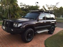 """Land cruiser 100 series refurbished 16"""" alloy mag wheels cooper tyres Buderim Maroochydore Area Preview"""