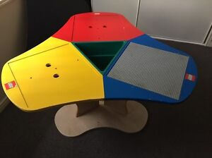 Lego brand play table with base plate Upper Kedron Brisbane North West Preview