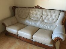 Leather couches for sale Croydon Burwood Area Preview