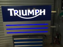 Full Size Triumph illuminated Sign Albany Albany Area Preview