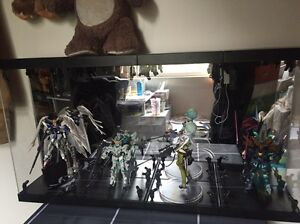 Display Case light and Gudam figures Strathfield Strathfield Area Preview
