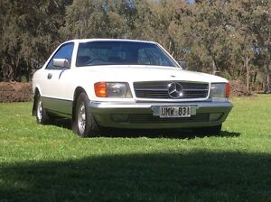 1984 v8 Mercedes 500 s.e.c coupe Two Wells Mallala Area Preview