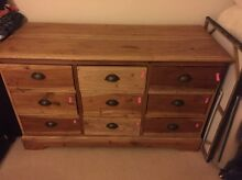 URGENT Beautiful WOODEN drawers chest Woollahra Eastern Suburbs Preview
