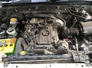 Navara D22 3L ZD30 complete engine low 157km + wrecking Adelaide CBD Adelaide City Preview