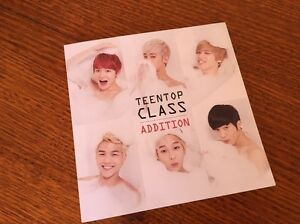 Kpop - TEENTOP Class Addiction photo book & CD Doncaster East Manningham Area Preview