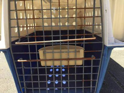 CAT OR SMALL DOG TRAVELLING CAGE