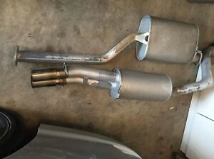 """Xforce 2.5"""" cat back exhaust system as new suit ford Fg fgx ute East Maitland Maitland Area Preview"""