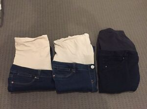 3 x size 10 jeans west maternity jeans Revesby Bankstown Area Preview