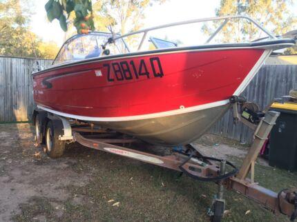2008 Stacer 549 Easyrider boat