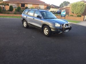 Hyundai Santa Fe GLS auto wagon 2002m West Melbourne Melbourne City Preview
