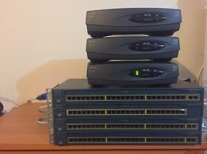 Cisco equipment bundle Bonner Gungahlin Area Preview