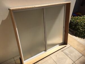 Airlite sliding frosted window with reveal. Mosman Mosman Area Preview