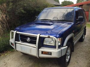Holden Jackaroo 139000km Turbo Diesel Forest Hill Whitehorse Area Preview