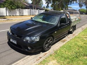 Ford BF XR8 ute with heavy duty fleet trades tray Kalorama Yarra Ranges Preview