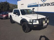 2008 ford ranger XL turbo diesel auto 4x4 dualcab ute Bundaberg Central Bundaberg City Preview