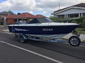 Boat Haines Signature 135HP PRICE DROPPED Mount Keira Wollongong Area Preview