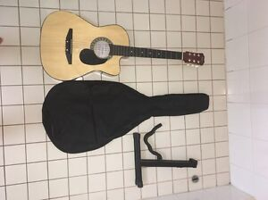 (Brand new)  Acoustic guitar *with extras* Nightcliff Darwin City Preview