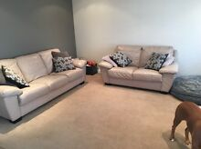 Leather lounge suite Hocking Wanneroo Area Preview