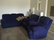 Lounge suite: one 3-seater and 2 recliners Bendigo Bendigo City Preview