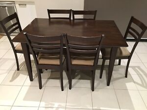 Dining table with 6 chairs Melbourne Region Preview