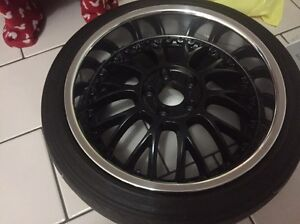 """Staggered dished 18"""" manarays 5x114.3 Lara Outer Geelong Preview"""
