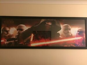 Star Wars Framed Memorabilia Canning Vale Canning Area Preview