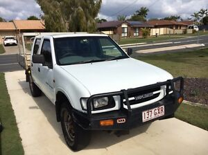 Holden rodeo dual cab turbo diesel. 4wheel drive manual. Clontarf Redcliffe Area Preview