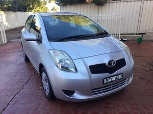Toyota Yaris YR 5 Door Hatch 2007 1.3L Manual Low Kms Great on Fuel Glendenning Blacktown Area Preview